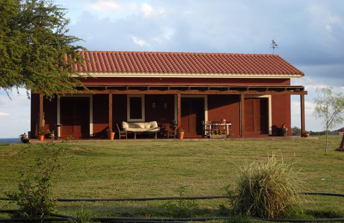 Casas de campo cordoba for Techos para casas de campo